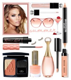 """""""Summer Beauty"""" by rasa-j ❤ liked on Polyvore featuring beauty, Floss Gloss, Christian Dior, Tom Ford, Benefit, Bobbi Brown Cosmetics and Charlotte Tilbury"""