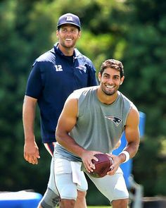 TB12 and Jimmy G.
