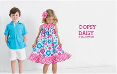 Oopsy Daisy Collection   Shop my website to coordinate the whole family! www.kellyskids.com/michellethompson