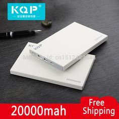 Genuine KQP External Battery Backup Power Bank 20000mah Portable Charger Mobile Phone Battery For all phones Cortical Ultra thin - http://smartphonesaccessories.org/?product=genuine-kqp-external-battery-backup-power-bank-20000mah-portable-charger-mobile-phone-battery-for-all-phones-cortical-ultra-thin