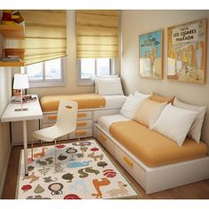 25 Cool Bed Ideas For Small Rooms Room Bedrooms and Bedroom windows