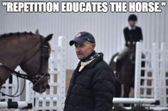 Clinic Report: George Morris in Wilsonville Oregon With Memes Equine Quotes, Equestrian Quotes, Horse Quotes, Equestrian Problems, Horse Training Tips, Horse Tips, George Morris Quotes, Horse Braiding, Dressage Horses