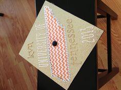 University of Tennessee grad cap