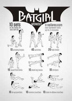 Batgirl Workout