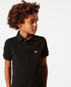 Camiseta Polo Lacoste Infantil Preta http://www.bebeboutique.com.br/cat/marcas/45096.html