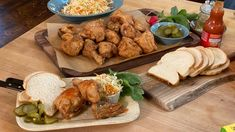 Rachael shares a spicy fried chicken recipe that's worth the overnight brine. New Recipes, Cooking Recipes, Favorite Recipes, Brunch Recipes, Steak Casserole, Spicy Fried Chicken, Chef Cookbook, Making Pulled Pork