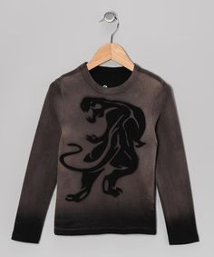 Take a look at this Onyx Black Panther Tee - Toddler & Boys by Stencil on #zulily today!