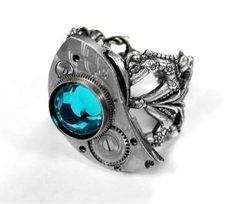 Gothic Bird Cuffs - EDM Designs Creates Eccentric Victorian  Steampunk Accessories (GALLERY)