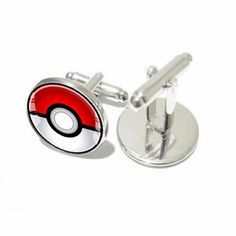 Do you love Pokemon GO? Grab this super cute Pokemon Pokeball Cufflinks. They'll know you're a serious player when you show up with this! INTERNET EXCLUSIVE - NOT SOLD IN STORES