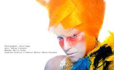 Photographer: Chris Nagy  Hair: Fabian Cisneros  Makeup: Emilio Uribe  Creative Director & Fashion Editor: Nuria Carrasco   #photography #Fashion #style #NAHA #Hair #makeup