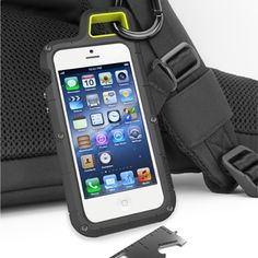 PureGear PX360 Extreme Protection System - hang your iPhone on your backpack