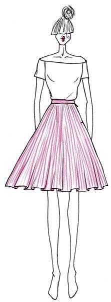 397 besten Sewing for Woman: Skirts + Aprons Bilder auf Pinterest in ...