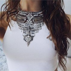 Legend Boho Statement Necklace #pretty #fashion #style #statementnecklace #silvernecklace - 24,90 @happinessboutique.com