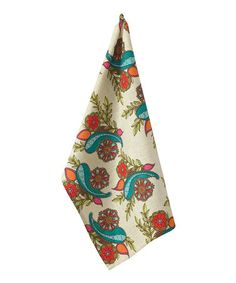 Loving this Paisley Peacock Dish Towel on #zulily! #zulilyfinds