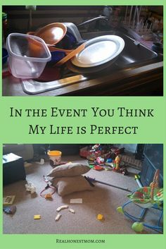 In The Event You Think My Life Is Perfect - Real Honest Mom