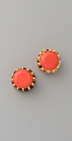 Juicy Couture  Princess Studs (coral)