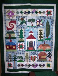 Rejected quilt blocks find new purpose
