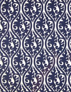 Adorn, Navy; this could be a classic look for the wall & would make a statement.