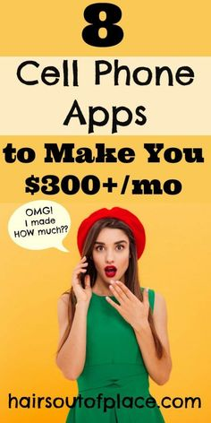 8 legit ways to make online with your phone. Cell phone apps are an awesome way to make an extra $300+/mo in cash that are quick and easy. Whether you're a college student, mom, teen or anyone who just wants to make extra cash or wants an easy side hustle, these 8 ideas will help you out! #makemoneyonline #sidehustles #quickcash #earnextramoney