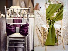 decoração de cadeira de casamento - Pesquisa Google