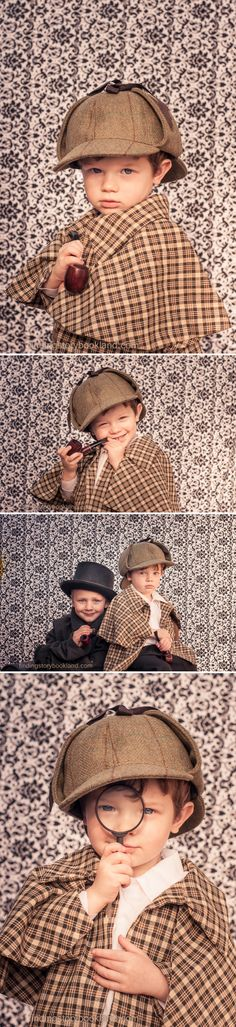 A DIY guide for a Sherlock Holmes themed cosplay photo shoot with costume and prop ideas from www.findingstorybookland.com  Photography Ideas