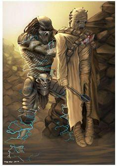 Predator vs Tuscan raider