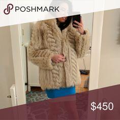 Saga Fox Fur Coat Authentic Saga Fox Fur Coat - Size S - Good Condition - Smoke free house Jackets & Coats Pea Coats