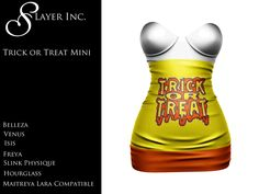 Trick or Treat Mini Dress Packed