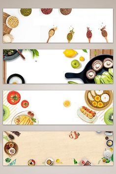 Food Backgrounds, Flower Backgrounds, Journal Stickers, Planner Stickers, Spice Image, Food Graphic Design, Food Banner, Baby Stickers, Youtube Channel Art