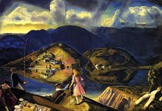 George Bellows - The Picnic
