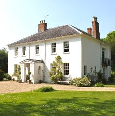 The Old Rectory Wiltshire: A charming classical Georgian house.