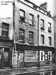 Jack the Ripper: Hanbury street Murder site 1888