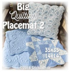 Big Quilting Placema