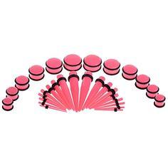 Yantu 30pcs Rose Taper Kit with Plugs Double O-rings 14G-00G Stretching Kit YANTU http://www.amazon.com/dp/B00NW6ESSE/ref=cm_sw_r_pi_dp_.wfnvb024KY5Q
