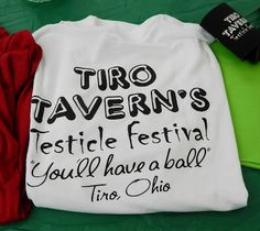 The Tiro Testicle Festival this weekend!  You'll have a ball! http://ohiofestivals.net/4-tiro-testicle-festival-may-19-2013/