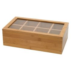 Bread Boxes Bed Bath And Beyond Bed Bath & Beyond Oceanstar Bamboo Tea Box  Teas Box And Organizations