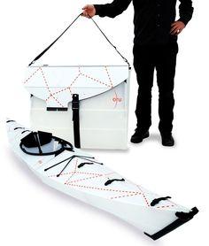 A folding kayak? Amazing.