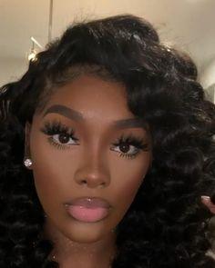 Black Makeup Looks, Glitter Makeup Looks, Prom Makeup Looks, Black Girl Makeup, Brown Skin Makeup, Blonde Hair Makeup, Brunette Makeup, Nude Makeup, Birthday Makeup Looks