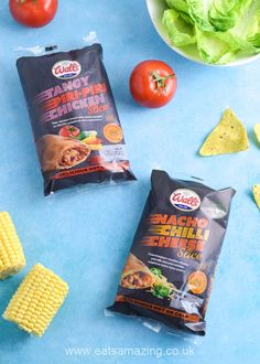 My review of the new flavours of microwave slices from Walls Pastry - Nacho Chilli Cheese and Piri-Piri Chicken Food Art For Kids, Cooking With Kids, Sweet Corn Salad Recipe, Tasty Pastry, Chicken Slices, Piri Piri, Microwave Recipes, Chicken Fajitas