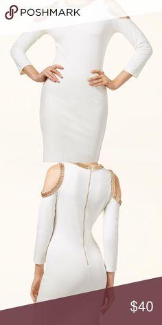 XOXO EMBELLISHED DRESS cold shoulder XOXO JUNIORS' embellished cold shoulder bodycon dress - perfect condition XOXO Dresses