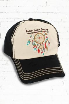 fba26d8700820 Follow Your Arrow Distressed Cap