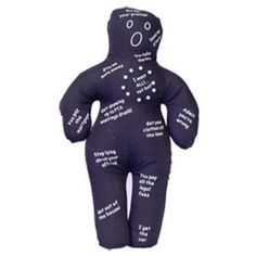 Ex Husband Voodoo Doll -Stick the pin into the activity that you want your ex husband to do and instantly he will stop acting like a pr*ck and behave properly. (If only...)