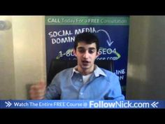 www.FollowNick.com 17. Mix it up, keep them guessing - Facebook Marketing About Facebook, Free Courses, Facebook Marketing, Picture Video, Social Media, Ads, Youtube, Website, Pictures