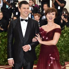 A happy ending for ScarJost! Scarlett Johansson and Colin Jost announced their engagement in May 2019 after two years of dating.