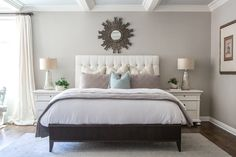 elegant neutral bedroom