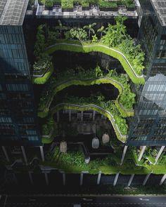 "Gefällt 22.3 Tsd. Mal, 139 Kommentare - Architecture & Design (@architectanddesign) auf Instagram: ""PARKROYAL on Pickering Hotel designed by WOHA Architects. (2013)#Singapore : @ssnnas…"""