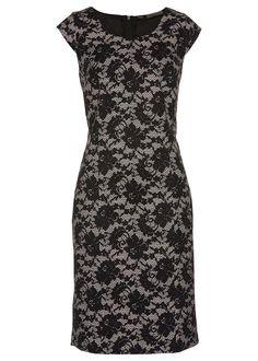 Etui ruha csipkés mintázattal Az alakot • 11999.0 Ft • bonprix Beige, Elegant, Formal Dresses, Tops, Link, Ebay, Fashion, Clothing Accessories, Black