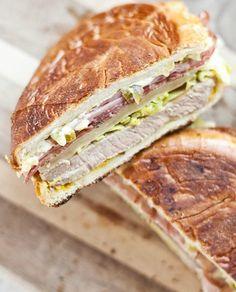 Monster Cubano Sandwich