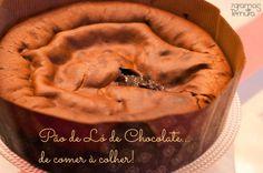 7gramas de ternura: Pão de Ló de Chocolate