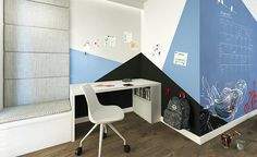 ROOM STUDIO Corner Desk, Loft, Studio, Bed, Furniture, Home Decor, Corner Table, Decoration Home, Stream Bed